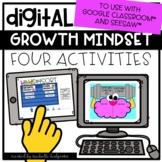 Digital Activities Growth Mindset for Google Classroom™ & Seesaw™