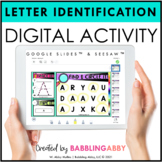Digital Activities Letter Identification & Recognition Goo