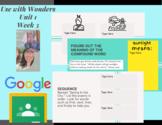 Digital Activities- Room to Grow- 3rd Grade Wonders Unit 1 Week 3