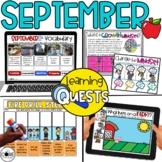 Digital Activities September: Farms, 9/11, Community Helpe