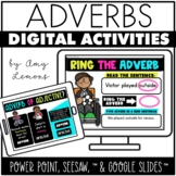 Digital Activities for Adverbs {Seesaw, Google Slides, Pow