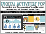 Digital Activities for Composing and Decomposing Teen Numbers
