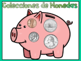 Digital Activities for Counting Coins - Spanish