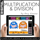 Digital Activities for Multiplication and Division (SEESAW