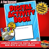 Digital Activity Book Project or Review Activity: Google C