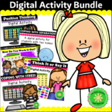 Digital Activity Bundle for Social Skills and Counseling