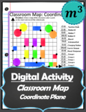 Digital Activity: Classroom Map Coordinate Plane