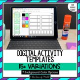 Digital Activity Templates for Google Slides™ Distance Learning