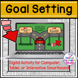 Digital Activity for Goal Setting, Grades 2-3