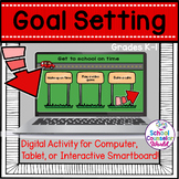 Digital Activity for Goal Setting, Grades K-1