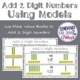 Digital Add 2 Digit Numbers Using Models