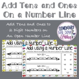 Digital Add Tens and Ones to 2 Digit Numbers on Number Line