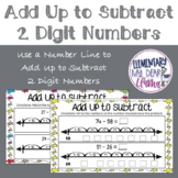 Digital Add Up to Subtract 2 Digit Numbers on Number Line