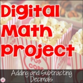 Digital Adding and Subtracting Decimals Project for Distan