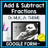Digital Adding and Subtracting Fractions With Unlike Denom