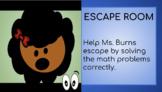 Digital Addition Escape Room for Google Slides
