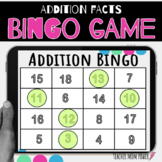 Digital Addition Facts Bingo Game {adding doubles and doub