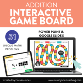 Digital Addition Math Game for Distance Learning | Interac