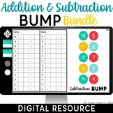 Digital Addition & Subtraction Bump Games | Dice Games | D