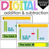 Digital Addition and Subtraction Practice | Google Slides™