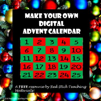 Digital Advent Calendar FREEBIE!