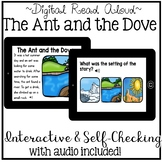 Digital Stories Aesop's Fables - The Ant and the Dove ( Boom Cards )