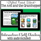 Digital Stories Aesop's Fables - The Ant and the Grasshopper ( Boom Cards )