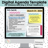 Digital Agenda for Distance Learning