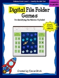 Digital Alef Bet/Alef Beis Space Games for Distance Learni