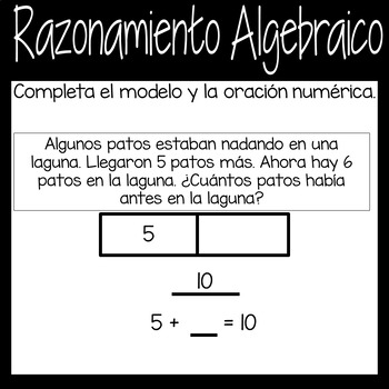 Digital Algebra Google Game in *Spanish*