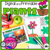 Digital All About Plants Activities | Plant Parts and Life Cycle Activities