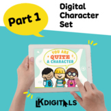 Digital All About Character Traits | Google Slides™ & Seesaw™