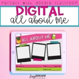 Digital All About Me Activity for Distance Learning