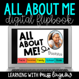 Digital All About Me Student Flipbook Slideshow