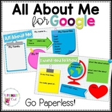 Digital All About Me for Google Drive