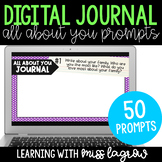 Digital All About You Writing Journal