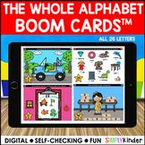 Digital Alphabet Activities - Alphabet Boom Cards