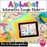 Digital Alphabet Activities for Distance Learning on Google