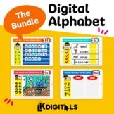 Digital Alphabet Bundle | Google Slides™ & Seesaw™