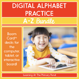 Digital Alphabet Bundle: Letters and Sounds A Through Z | BOOM Cards™