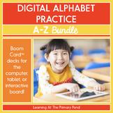 Digital Alphabet Bundle: Letters and Sounds A Through Z |