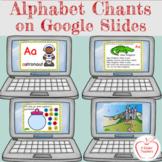 Digital Alphabet Chants Letters A - Z - Interactive - Goog