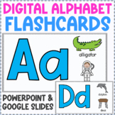 Digital Alphabet Flashcards