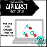 Digital Alphabet Flashcards-Uppercase & Lowercase