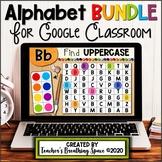Digital Alphabet Activities for Google Classroom / Distanc