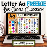 Digital Alphabet for Google Classroom --- Letter Aa *FREEBIE*