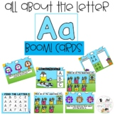 Alphabet Lessons Digital Task Distance Learning | Boom Cards™