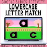 Digital Alphabet Letter Match for Google Slides   DISTANCE