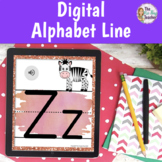 Alphabet Posters Watercolor | Digital for Distance Learning