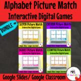 Digital Alphabet Picture Sort BUNDLE For Google Slides and